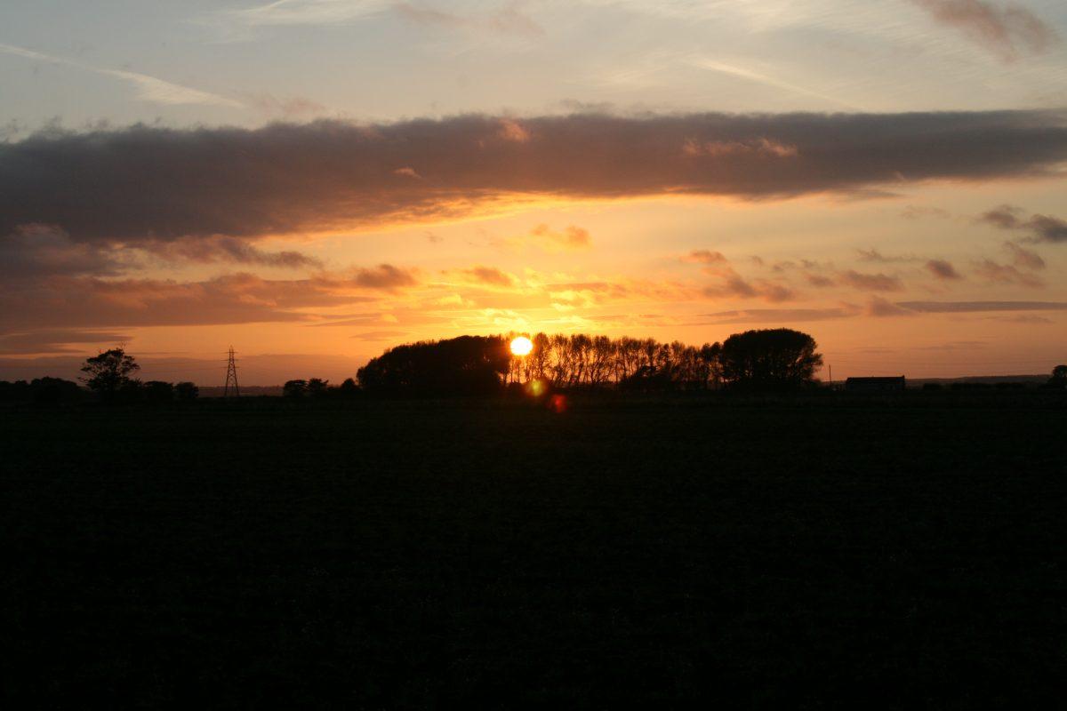 sunset Rainford